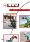 Roda - Model POM VX - Hydraulic Loader Brochure