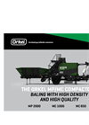 Model MP 2000, MC 1000 and MC 850 - Agricultural Compactors Brochure