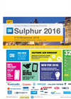 Sulphur 2016 International Conference & Exhibition - Brochure