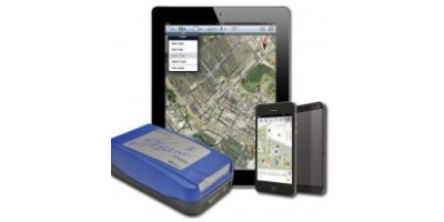 Model iSXBlue II - GNSS featuring iPad and iPhone Connectivity, GPS, GLONASS and SBAS (IP67)