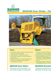 BACKHUS Cover Winder / Fleece Winder - Brochure