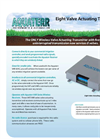 Aquaterr - Model VAT 8 - Eight Irrigation Valve Actuating Transmitters - Datasheet