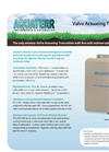 Aquaterr - Model VAT 16/32 - Irrigation Valve Actuating Transmitters - Datasheet