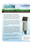 Aquaterr - Pole Mount Irrigation Valve Actuating Receiver - Datasheet