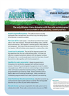 Aquaterr - Metal Box Mounted Irrigation Valve Actuating Receiver - Datasheet