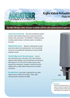Aquaterr - Model VAR-8 - Pole Mount Eight Irrigation Valve Actuating Receiver - Datasheet