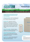 Aquaterr - Remote Irrigation Pump Control Kit - Datasheet
