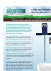 Aquaterr Blue Brut - Model Serie 300 - Portable Soil Measurement Instruments Datasheet