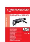 RODIADRILL - Model 1800 - Dry Drilling Machine Brochure