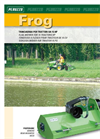 FROG - Rear Lawn Tractor for 15 HP - Brochure