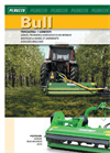 BULL - Heavy Duty Rear Mounted Flail Mower for 30 to 70 HP - Brochure