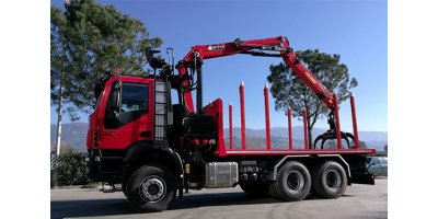 Marchesi - Model T Series - Forestry Cranes