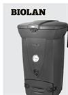 Biolan - Model 220 - Composter - Brochure