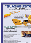 Slashbuster - Model HD 420B - Brush Cutters Brochure