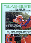 Slashbuster - Model XL 480S - Brush Cutter Brochure