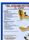 Slashbuster - Model XL 480B - Brush Cutter Brochure