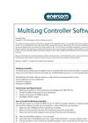 MultiLog Controller User Manual Software - Brochure