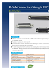 Servo - D-Sub 17JE - Rectangular Connectors - Brochure
