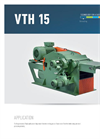 Drum Chippers, Horizontal VTH 15 Brochure