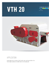 Drum Chippers, Horizontal VTH 20 Brochure