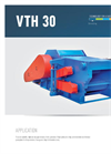 Drum Chippers, Horizontal VTH 30 Brochure