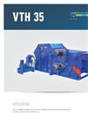 Drum Chippers, Horizontal VTH 35 Brochure