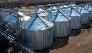 Wide-Corr Centurion - Flat Bottom Grain Bins