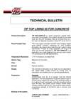 TIP TOP - Lining 65 - For Concrete Brochure
