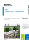 Bosman Centrifugal Column Pump
