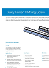 Pulsar Mixing Screw - Brochure