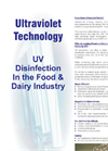 UV in the food and dairy industries