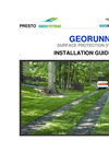GeoRunner Surface Protection Installation Guidelines - Brochure