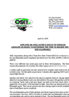 OSEI Applied to Puddle Gasoline or Diesel to Determine the Time to Render the Fuels Non-flammable Brochure