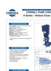 H Series - Vertical Close Coupled Datasheet
