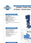 W Series - Vertical Close Coupled Datasheet