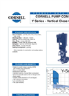 Y Series - Vertical Close Coupled Datasheet