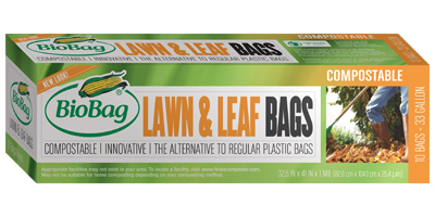 BioBag - Model 187274 - 33 Gallon Lawn & Leaf Bags (10 Count)