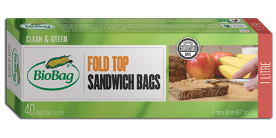 BioBag - Model 190422 - Fold Top Sandwich Bags