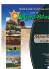 Micro-Blaze - Model AGRO - Synergistic Blend of Spore-Forming Microbes Brochure