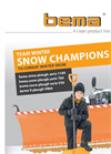 bema Snow Plough Serie 700-Technical Data Sheet