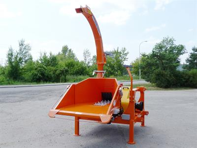 Model Skorpion 280 RBG Series - Mobile Drum Chipper
