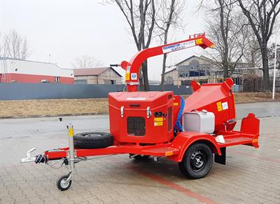 Skorpion - Model 120 S Series - Mobile Disc Chipper