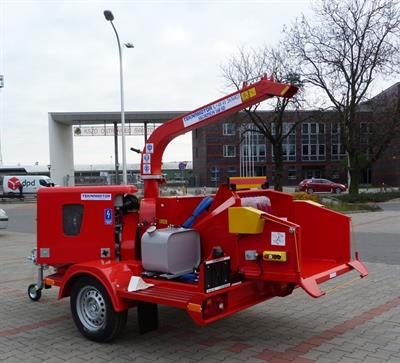 Skorpion - Model 160 SD - Mobile Disc Chipper