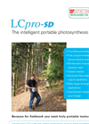 LCpro-SD Advanced Photosynthesis Measurement System Brochure