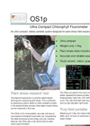 ADS - Model OS1p - Ultra-Compact Chlorophyll Fluorometer - Brochure