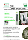 ADC - Model AM350 - Portable Leaf Area Meter - Brochure