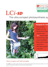 ADC - Model LCi-SD - Ultra Compact Photosynthesis System - Brochure