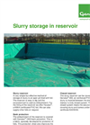 Genap - Slurry Reservoir - Fact Sheet