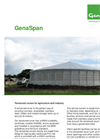 GenaSpan - Tensioned Covers for Agriculture and Industry - Fact Sheet