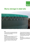 Genap - Slurry Storage in Steel Silo - Brochure